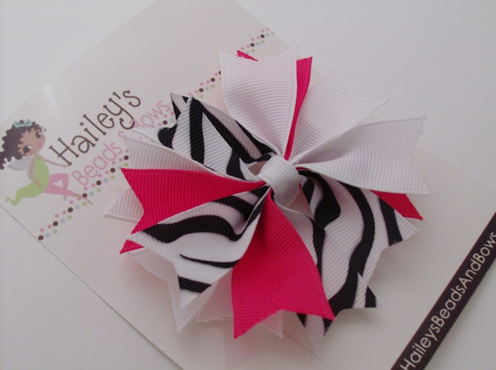 Spike Hair Bows